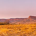 Cockburn Range Sunset Panorama by aabzimaging