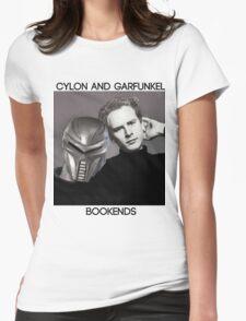 Cylon and Garfunkel Womens Fitted T-Shirt