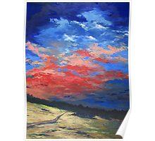 """""""Sunset Palette"""" Poster"""