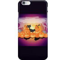 Pumpkins are Cats Best Friend iPhone Case/Skin