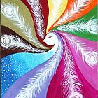 Twist of Life: Peacock by Anjali  Sanghi