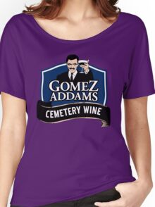 Gomez Addams Cemetery Wine Women's Relaxed Fit T-Shirt