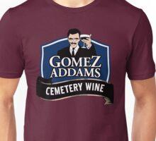 Gomez Addams Cemetery Wine Unisex T-Shirt