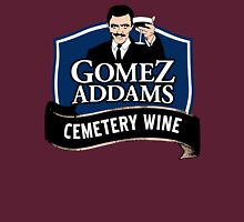 Gomez Addams Cemetery Wine T-Shirt