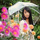 Garden Rain by Emilie Trammell