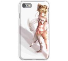 Cartoon Fox Girl Pattern iPhone Case/Skin