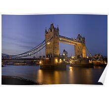 Tower Bridge at Sunset, London, UK Poster