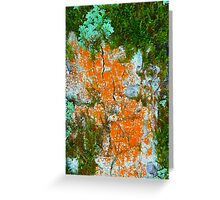 lichens and fungi Greeting Card