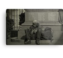 Down & Out In Sydney Metal Print