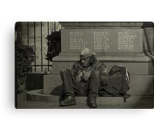 Down & Out In Sydney Canvas Print