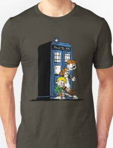 Calvin and Hobbes Doctor Who Style T-Shirt
