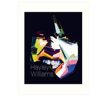 Hayley Williams Pop Art  Art Print