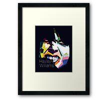 Hayley Williams Pop Art  Framed Print