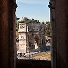 A View from The Colosseum by Simon Marsden
