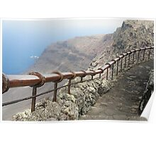 handrail with a view Poster