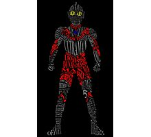 Ultraman of Many Words Photographic Print