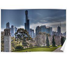 Melbourne, Australia Poster