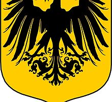 Liverbird German crest by sicknick