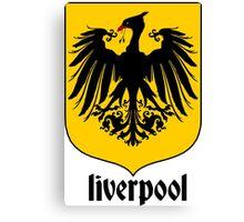 Liverbird German crest Canvas Print