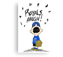 ROYALS AAUGH! Canvas Print