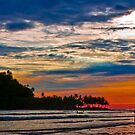 Island sunset by Naomi Brooks