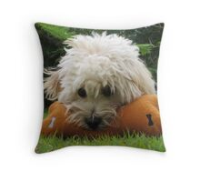 My Bone Throw Pillow