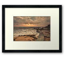 Pastel colours - Coogee Framed Print