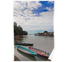 Boat harbour, Padang Poster