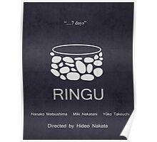 Ringu Minimal Poster