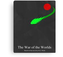 War of the Worlds Minimal 2 Canvas Print