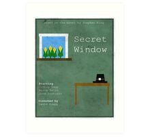 Secret Window Minimal Art Print