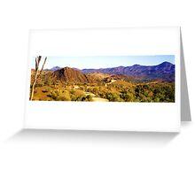 Flinders Ranges Panorama Greeting Card