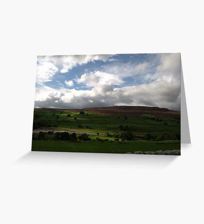 Sun Dappled Landscape Greeting Card