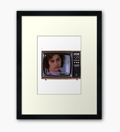 Virgins Can't Drive Framed Print