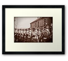 Duke of Lancaster's Regiment Freedom Parade - Ormskirk Framed Print