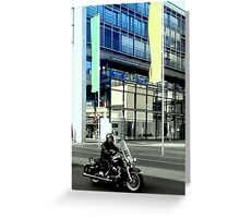 The Hells Angel That Got Left Behind Greeting Card