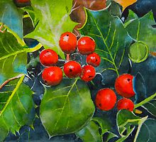 Holly Berries by Tonkin