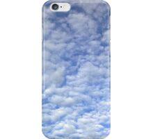 Dappled cloud in a blue sky for iPhone iPhone Case/Skin