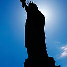 Silhouette of Statue of Liberty by Chris  Brookes