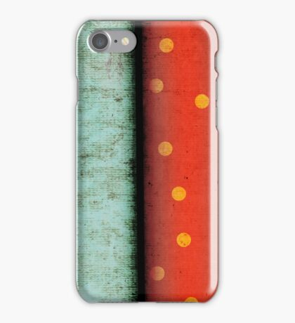 Twice Wonderful Polka dots iPhone Case/Skin