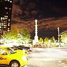 Columbus Circle by Chris  Brookes