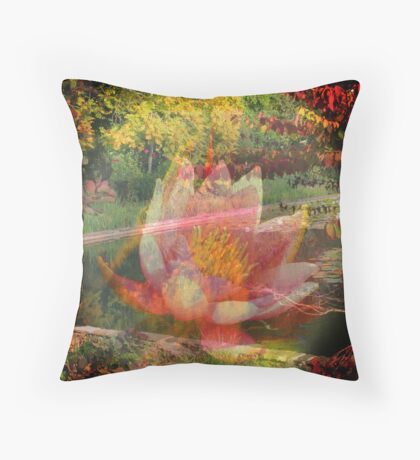 Pictures of Lily Throw Pillow