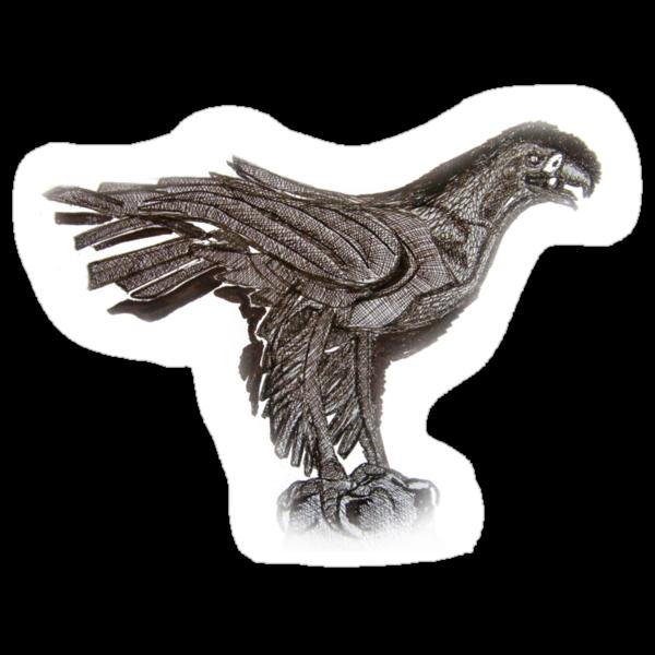 Eagle  TEE SHIRT/BABY GROW/STICKER by Shoshonan