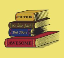 Fiction Is Awesome Kids Clothes