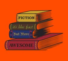 Fiction Is Awesome Kids Tee