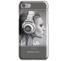 LISTEN iPhone Case iPhone Case/Skin