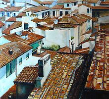 Firenze Rooftops. by Richard Sunderland
