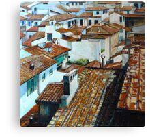Firenze Rooftops. Canvas Print