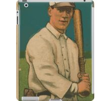 Benjamin K Edwards Collection Bill O'Hara St Louis Cardinals baseball card portrait iPad Case/Skin