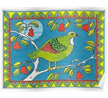 A Partridge in a Pear Tree Poster